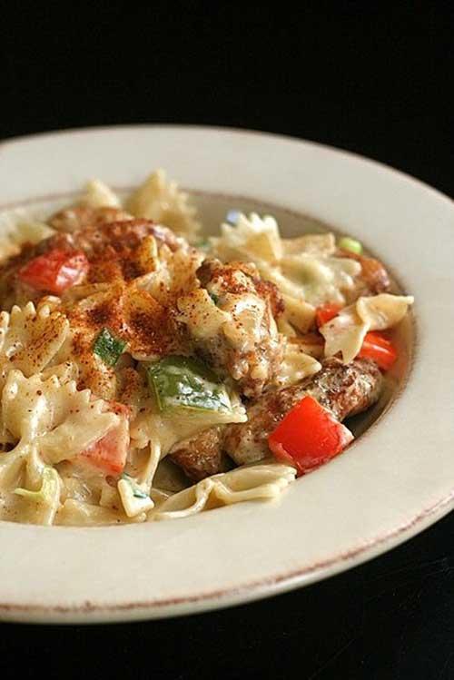 Louisiana Chicken Pasta