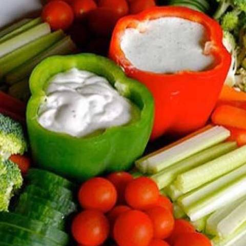 Recipe for Party Vegetable Tray