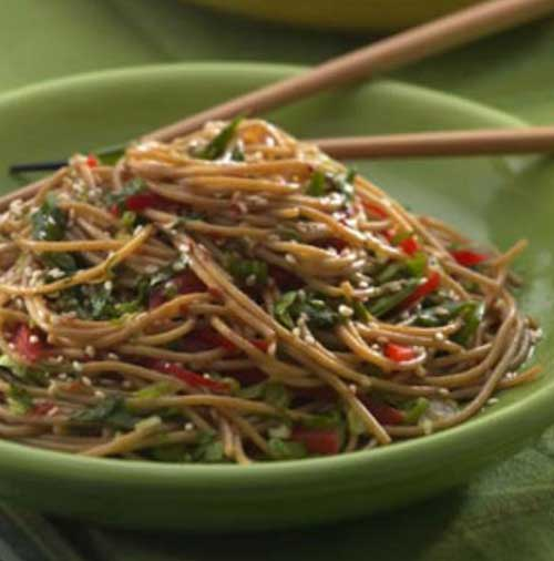 Recipe for Healthy Sesame Noodles
