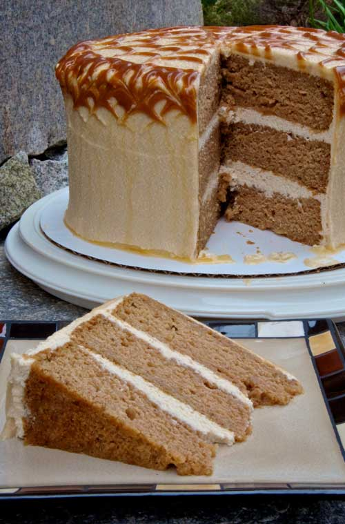 Recipe for Caramel Apple Cake