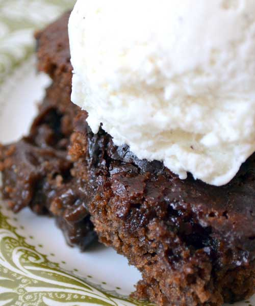 Rich, wonderful old-timey like cobbler!!!! Great for potlucks and get-togethers. This Chocolate Cobbler recipe is fast, easy and always a hit! Great with ice cream!!