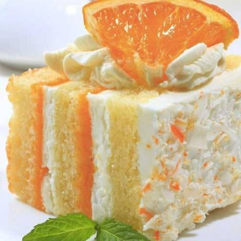 If you Love the taste of Orange Creamsicle Popsicles, you'll Love this Orange Creamsicle Cake! And nothing says that warmer weather is on the way than the bright taste of citrus!