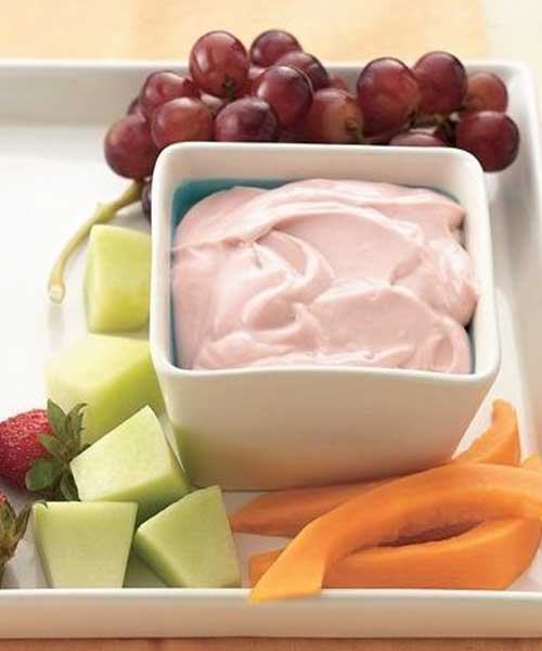 Recipe for Strawberry Lemon Fruit Dip