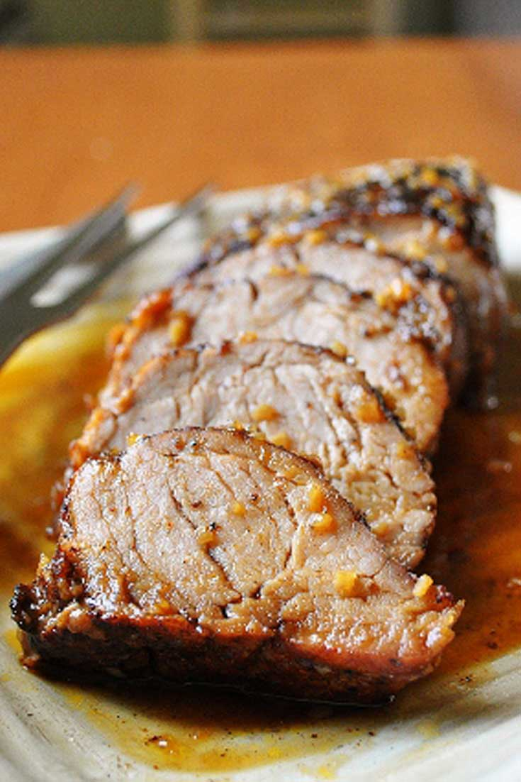 Can I just tell you that I LOVE THIS DISH! This Island Pork Tenderloin blew my mind - This is what you want to make when you have company (as long as your guests don't mind a things being a little spicy) #pork #dinnerideas