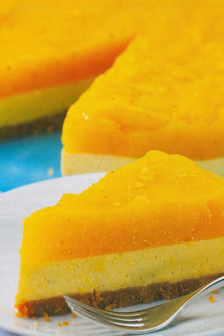 Bring a bit of summer to your winter. This Jamaican Mango Cheesecake can do just that. If your not able to find the Jamaican ingredients I'm sure this would be delish with what you have available. #cheesecakerecipe #mangodessert #mangocheesecake