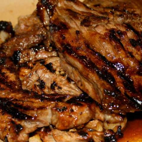 This is a fabulous Korean Barbecue Beef recipe, especially for those that are inexperienced with Asian cooking. This recipe is easy and has the delish Asian flavor you expect.The kiwi works as a tenderizer.