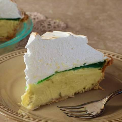 Recipe for Margarita Meringue Pie