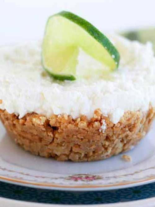 This No-Bake Margarita Pie is an easy, no-bake dessert with an adult-twist, and it's the perfect way to have a mini-celebration at home!