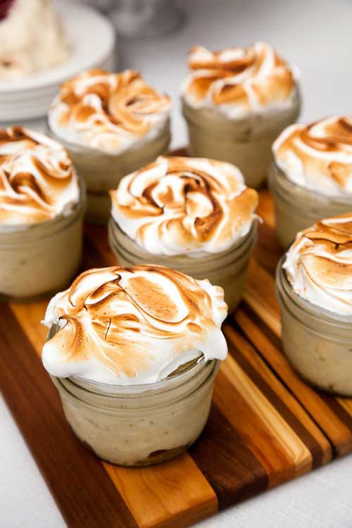 Recipe for Roasted Banana Pudding - For much of the last century, bananas made the Crescent City an import hub of the South. As a result, the fruit is celebrated in a plethora of dishes, including pastry chef Christy Augustin's Southern spin on banana pudding.