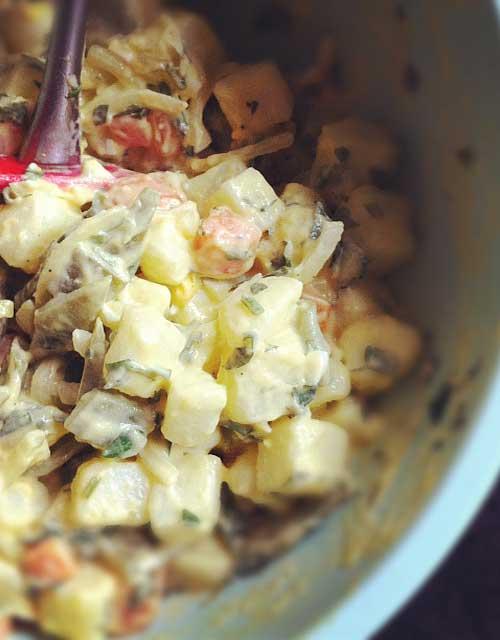 Impromptu Potato Salad