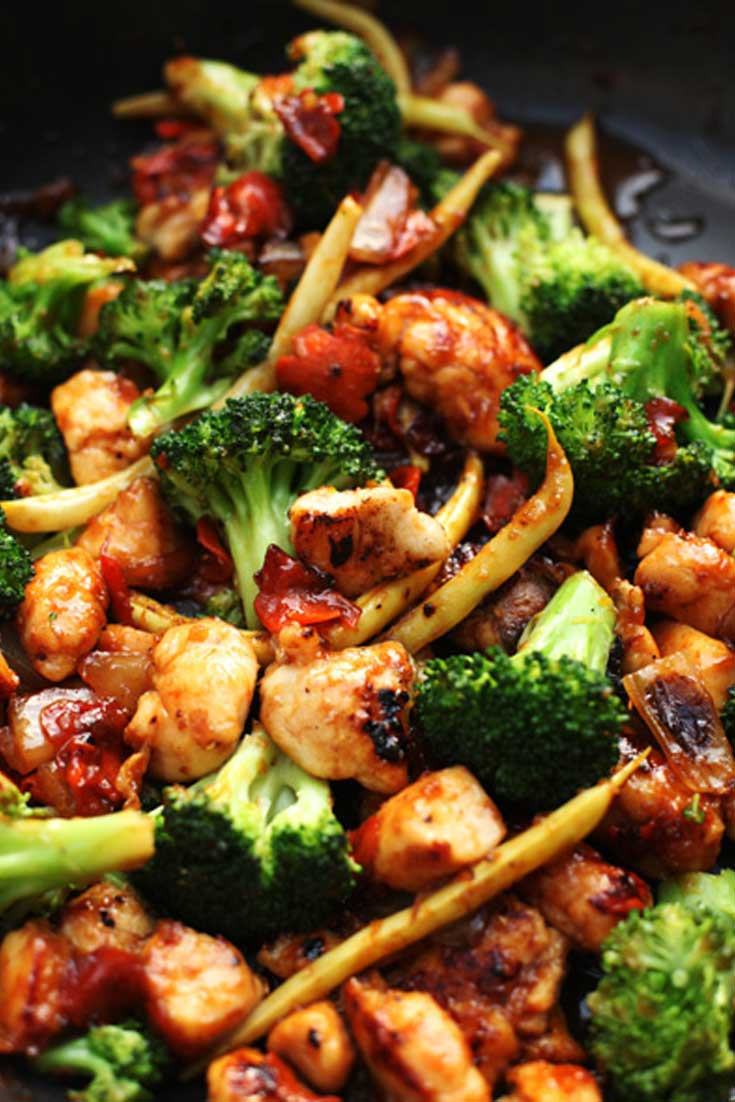 If you've always wanted to make your own Chinese restaurant food at home, this Orange Chicken and Vegetable Stir Fry recipe is a great one to add to your collection. Enjoy! #dinnerideas #asian #chicken #stirfry