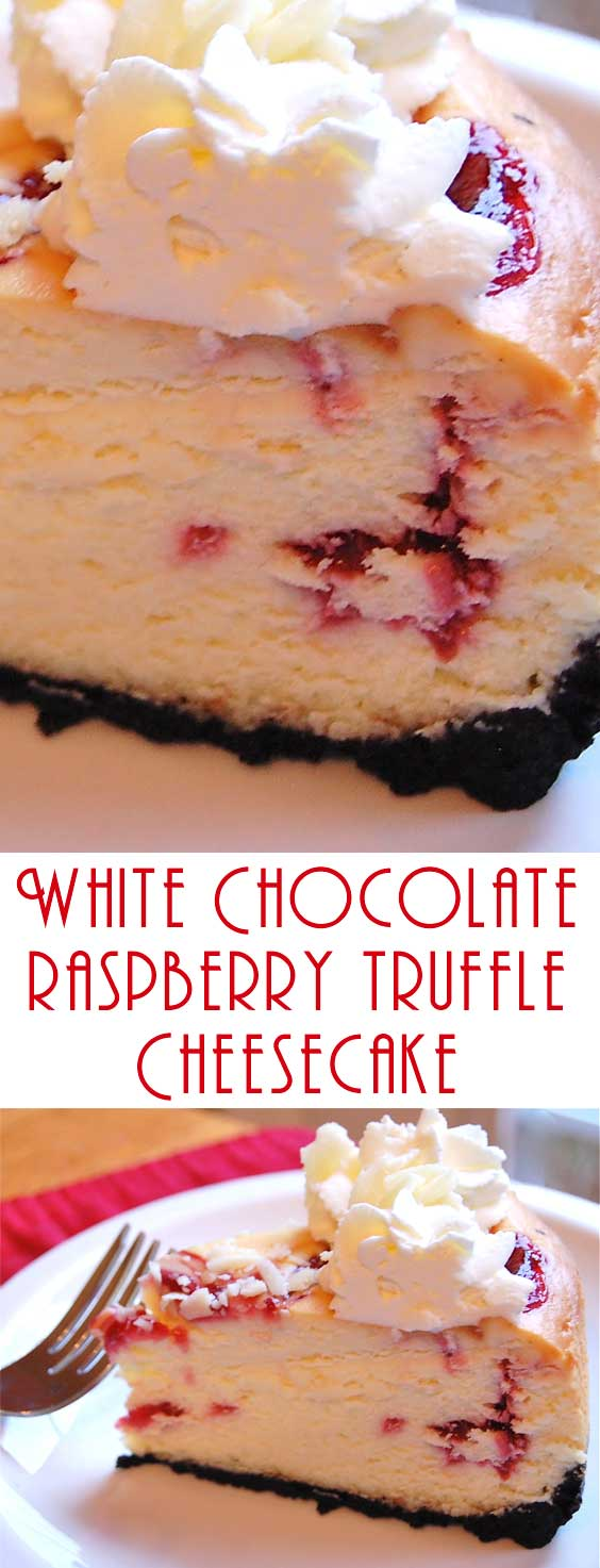 I like a rich cheesecake with nice height to it and I think a generous swirl of fresh whipped cream on top looks so nice. #copycatrecipe #cheesecakerecipe #dessert #baking