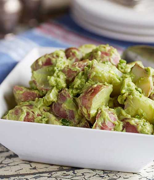 Creamy Vegan Avocado Potato Salad