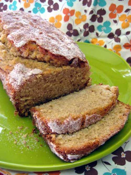 Recipe for Amazing Amish Cinnamon Bread - The first time I tried Amish cinnamon bread I fell in love. It was so good! Unlike coffee cakes and sweet breads that I had tried, this was very moist with just the perfect touch of sweetness.