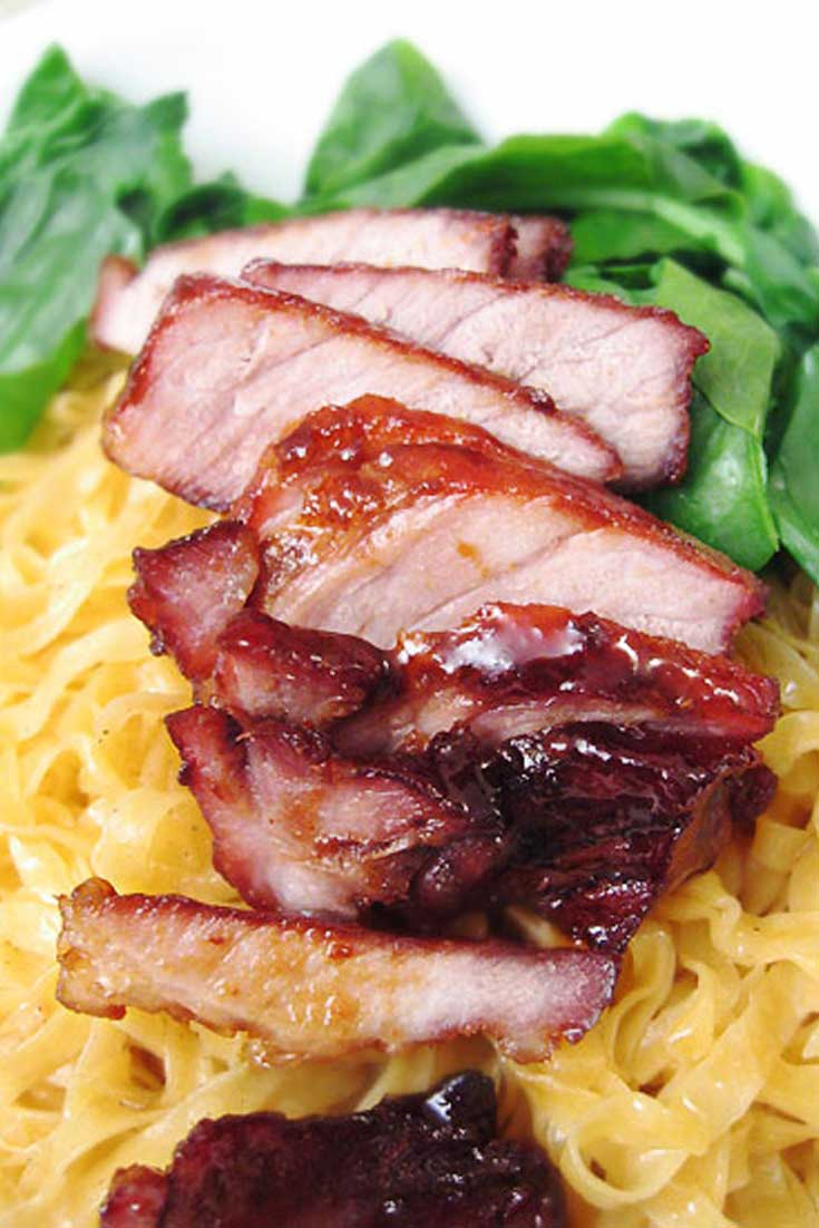 This Chinese BBQ Pork was so good! I had been wanting something like this for a while and the flavor was just like it was from my favorite Chinese restaurant. #chinese #pork #dinnerideas
