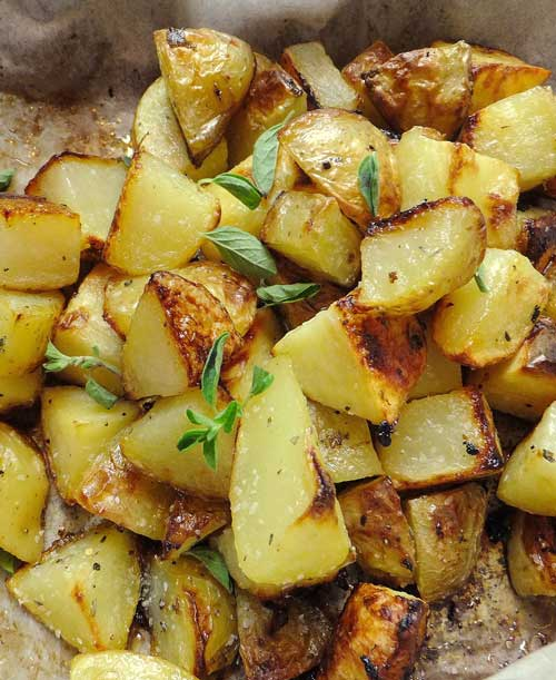Make your potatoes more exciting by adding a little Greek flair to them. Opa!