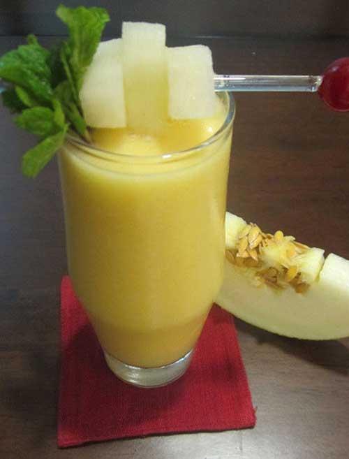 Melon and Mango Smoothie