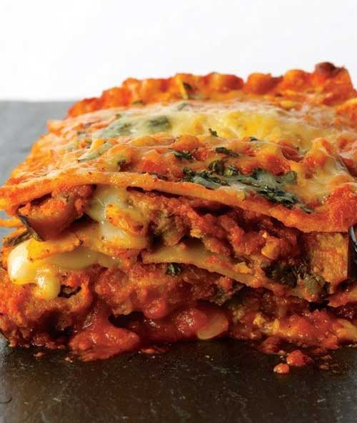 Recipe for Eggplant Parmesan Lasagna - Eggplant Parmesan Lasagna with layers and layers of wonderful flavor!