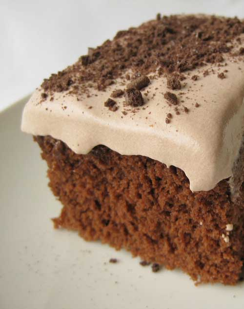 Recipe for Low Fat Chocolate Pudding Cake - This cake is surprisingly really good. It is very light and full of flavor. I would almost prefer this cake to regular cake with thick heavy frosting. I guess less guilt has something to do with that.