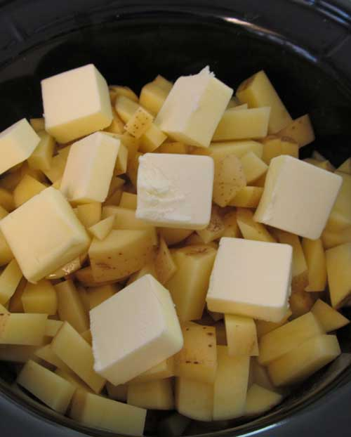 Mashed Potatoes in a Crock Pot – life changing!