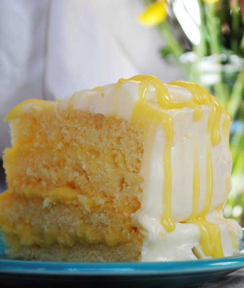 Lemon Pucker Cake