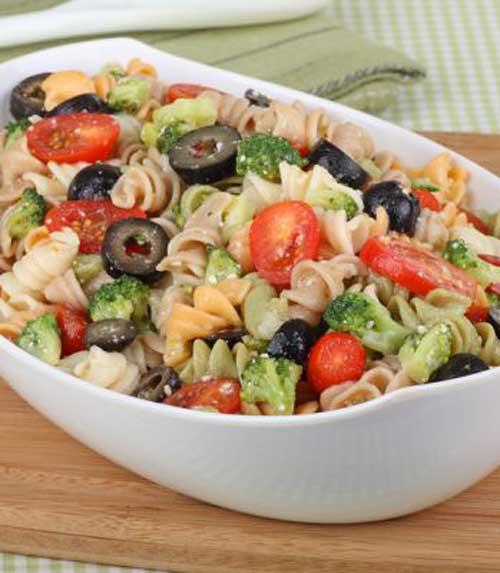 Rainbow Rotini Broccoli Salad