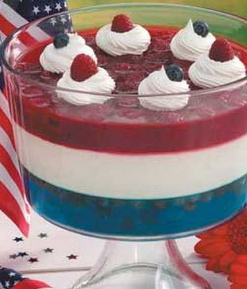 Red White n Blue Salad