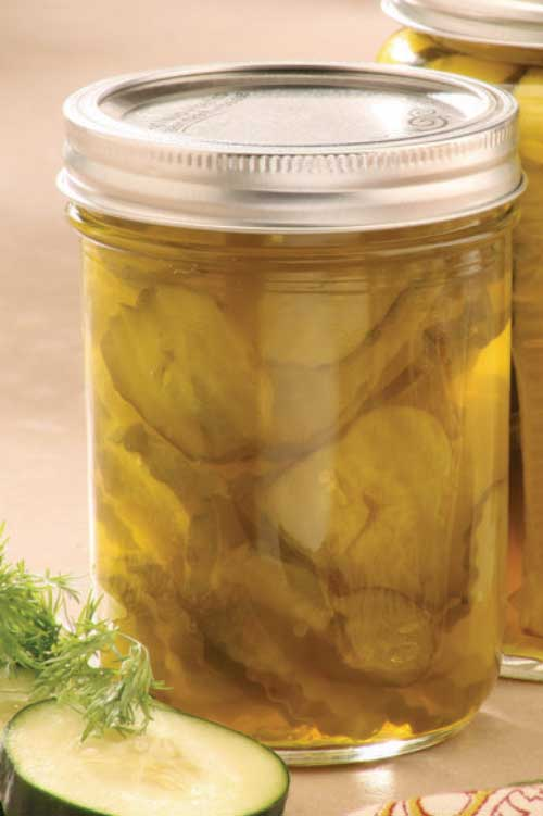 Zesty Bread and Butter Pickles