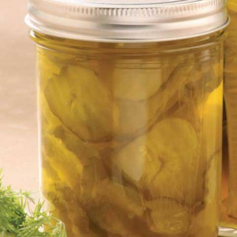 Recipe for Zesty Bread and Butter Pickles - These are the best bread and butter pickles I have ever had!! And I have been looking for a long time. I guarantee you'll love them!