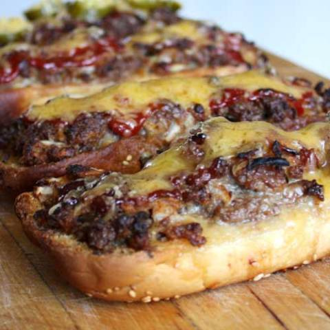 Step up your burger game with this recipe for Long Boy Burgers, and never go back to plain old burgers again.