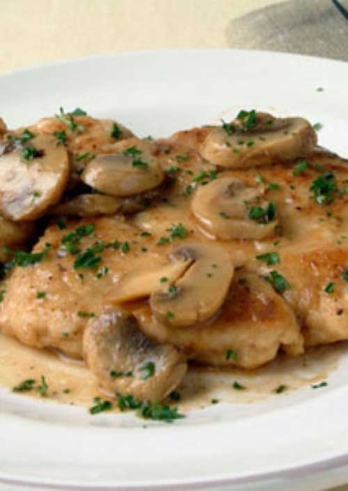 Recipe for Easy Chicken Marsala - What a quick and delicious meal this makes, deffinately going to be adding this to my dinner rotation!