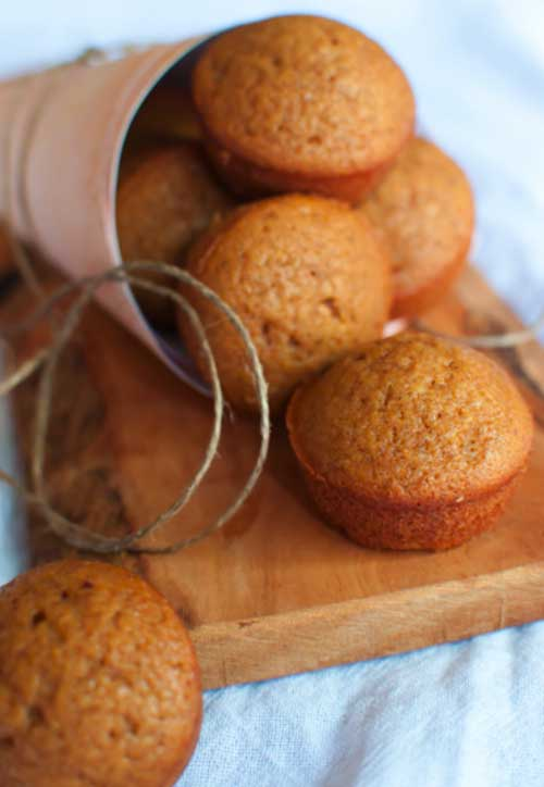 Pumpkin Oat n' Honey Muffins