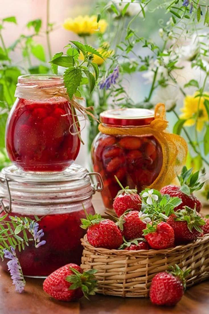 Recipe for Strawberry Preserves - Canning is not rocket science. But it is a science. There are principles of canning, and they need to be carefully followed #strawberries #preserves #canning