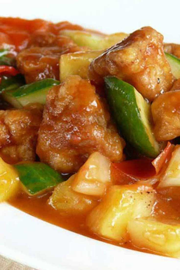 Sweet and sour pork is one delicious dish, and my sons tell me this dish tasted just like the one at the restaurants. #pork #chinese #dinnerideas
