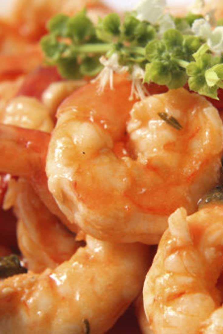 Get out of my way, I'm first in line for these Tequila Shrimp! Jumbo shrimp sauteed in garlic, cilantro, and tequila. It's great over pasta, or enjoy with cocktail sauce. #shrimp #dinnerideas