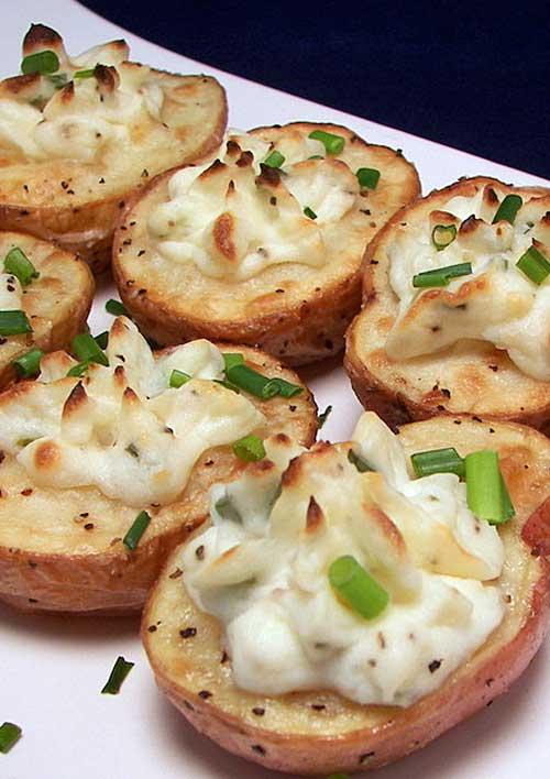 Twice-Baked Potato Bites