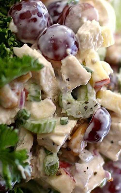 Autumn Garden Chicken Salad