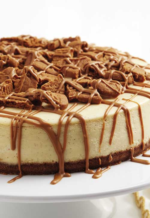 Cookie butter. Cheesecake. Delicious on their own. Put them together, and you end up more than happy.