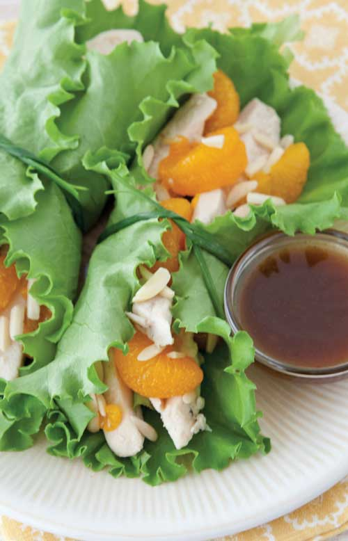 These five-ingredient Asian Chicken Lettuce Wraps build immense flavor into a healthy meal, in just about five minutes of prep time. #wraps #chicken #Asian