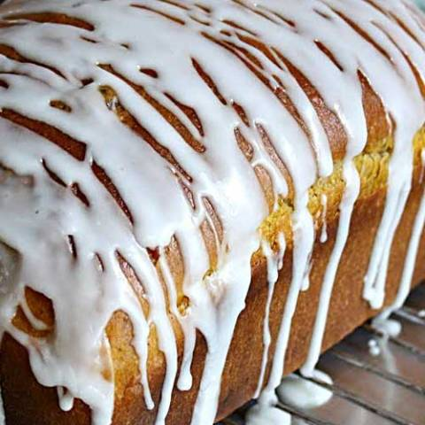 Recipe for Pumpkin Yeast Bread - At our house this pumpkin bread tends to just disappear, and while it's baking your house will smell like a cozy autumn afternoon.