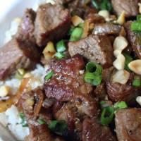 Asian-Style Garlic Beef