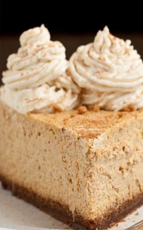 Copycat Cheesecake Factory Pumpkin Cheesecake