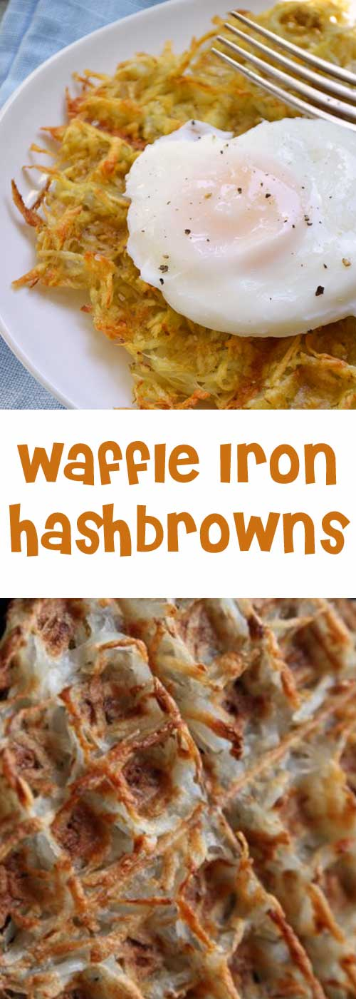 If you like crispy edges, this is the hash brown for you. Not to mention, it's just about the easiest thing ever.