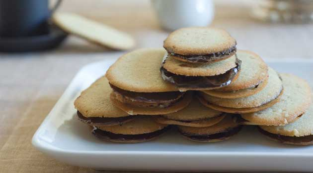 Recipe for Homemade Milano Cookies - There is no need to buy the bagged version when you can make them yourself this easily.
