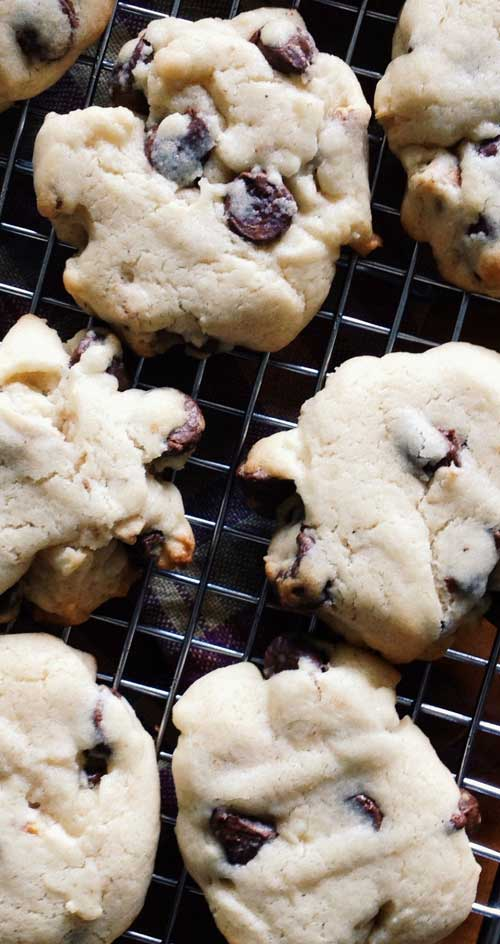 With the addition of crushed pretzels to the cookie dough, these easy chocolate chip cookies are the perfect balance between salty and sweet.