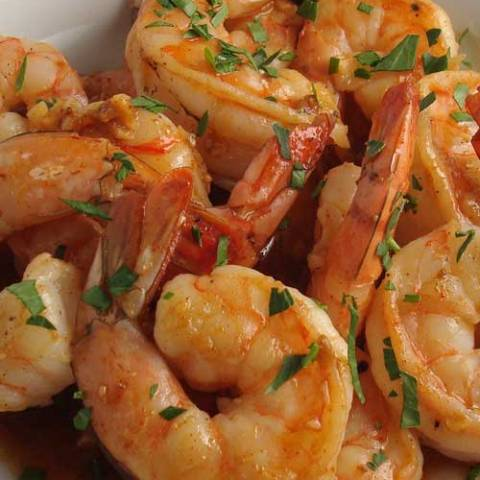 Recipe for New Orleans BBQ Shrimp - I have no idea why they call it BBQ shrimp but I don't care. It's freakin good, it's super easy to prepare, and makes a great appetizer!