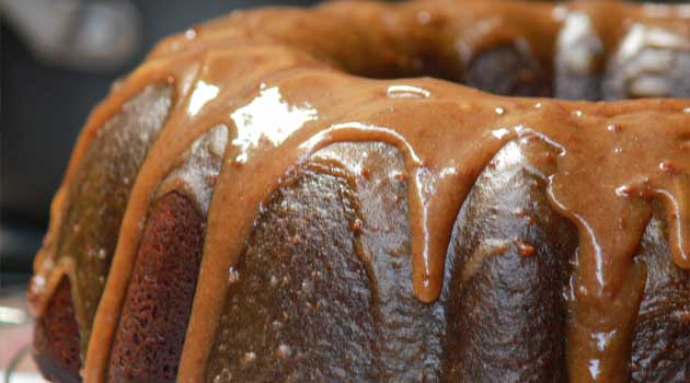 Recipe for Double Caramel Pound Cake - The best Double Caramel Pound Cake on the web! My family has made this for decades, and it is definitely an old time favorite.