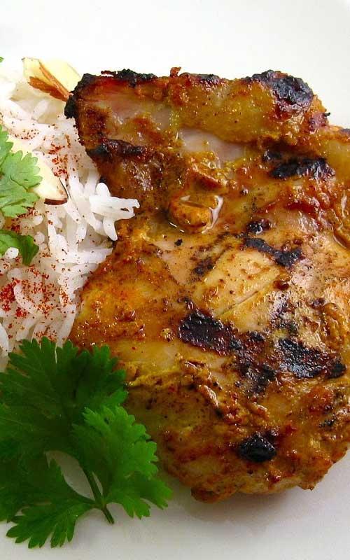 Chicken Tikka on the Grill