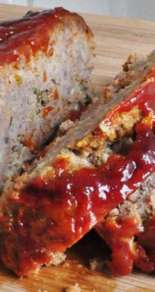 This is a very easy and no fail recipe for meatloaf. It won't take long to make at all, and it is soo yummy!