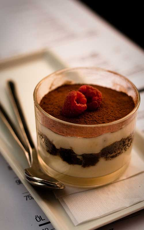 Recipe for Individual Tiramisu Parfaits - This simple recipe for Individual Tiramisu Parfaits comes together in only a few steps and the big finish you've been looking for.
